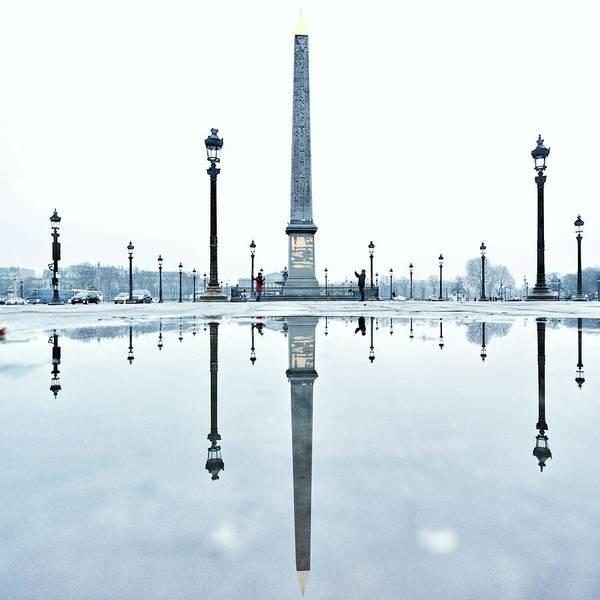 Concorde Photograph - Luxor Obelisk On The Place De La by Gerard Trang / Eyeem