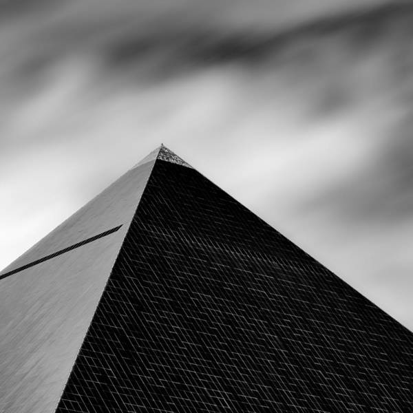 Hotel Photograph - Luxor Pyramid by Dave Bowman
