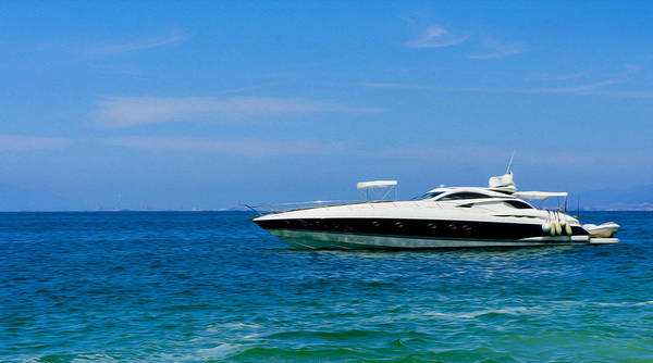 Motor Boat Photograph - Luxury Boat by Aged Pixel