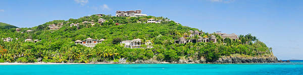 Housing Development Photograph - Luxury Mansions On An Island, Peter by Panoramic Images