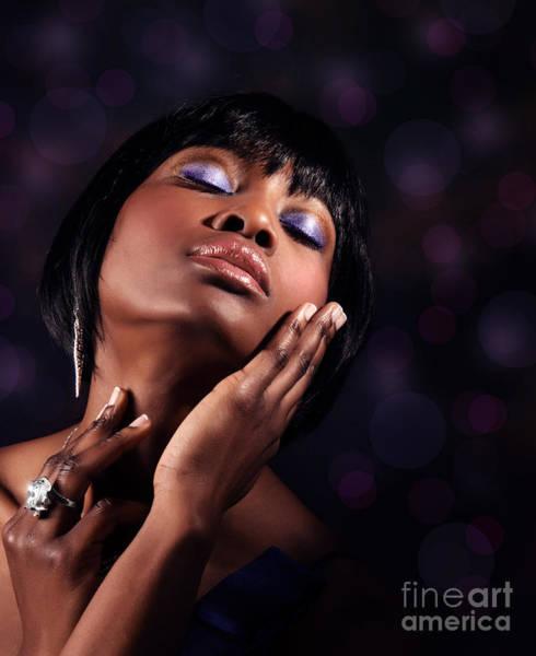 Supermodel Wall Art - Photograph - Luxury Woman's Portrait by Anna Om