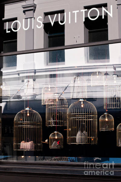 Photograph - Lv Gilded Cage Bags by Rick Piper Photography
