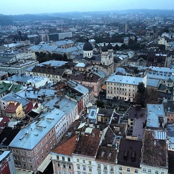 Japan Photograph - #lviv #ukraine #old #town by Ryoji Japan