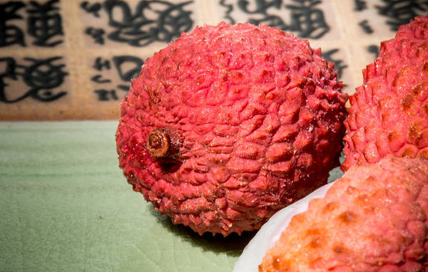 Photograph - Lychee Fruit by Jim DeLillo