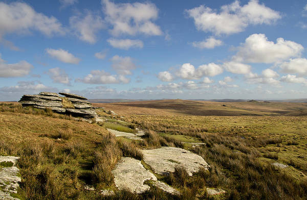 Photograph - Lydford Tor On Dartmoor by Pete Hemington