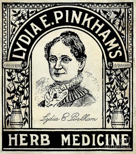 Herbs Photograph - Lydia Pinkham's Herb Medicine by Jon Neidert