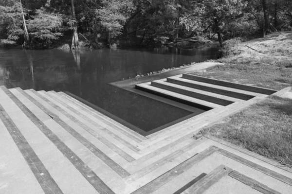 Photograph - Lynches River Canoe Launch Greyscale by MM Anderson