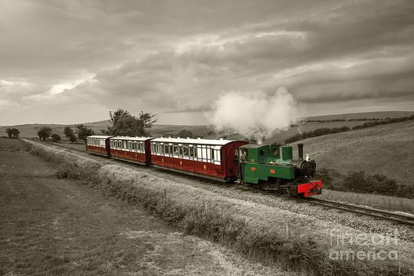 Wall Art - Photograph - Lynton Barnstaple Railway  by Rob Hawkins