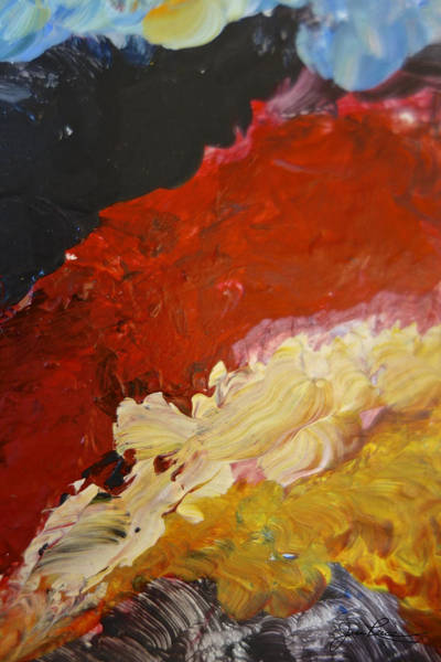 Painting - Intuitive Painting  718 by Joan Reese