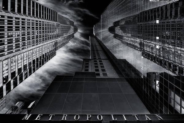 Metro Photograph - M E T R O P O L I T A N by Javier De La