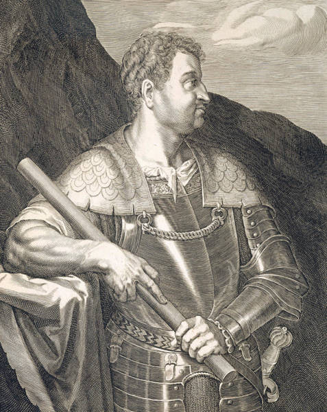 Suicide Painting - M Silvius Otho Emperor Of Rome by Titian