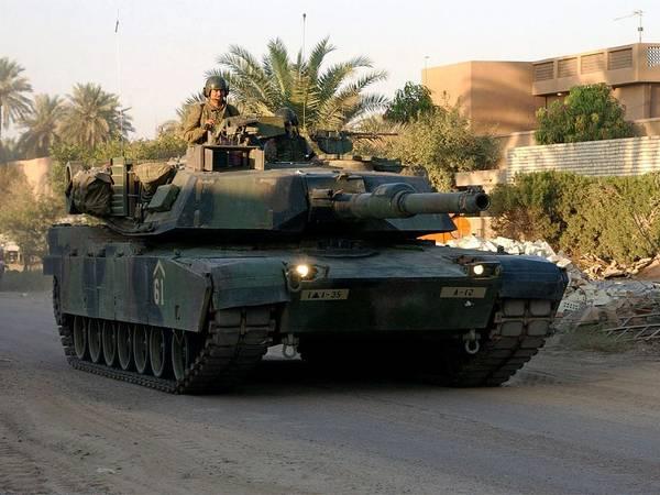 Wall Art - Photograph - M1 Abrams Tank Urban Patrol by L Brown