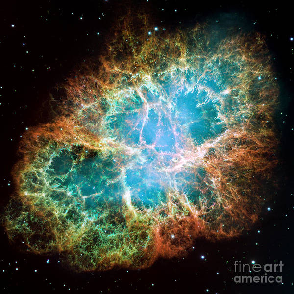 Photograph - M1-ngc 1952-taurus A-crab Nebula by Science Source