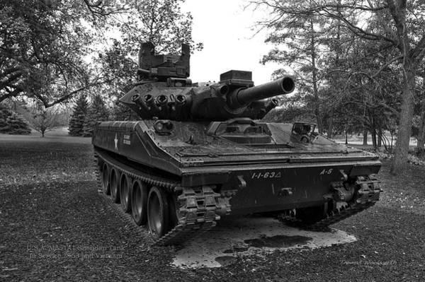 Wall Art - Photograph - M551a1 Sheridan Tank by Thomas Woolworth