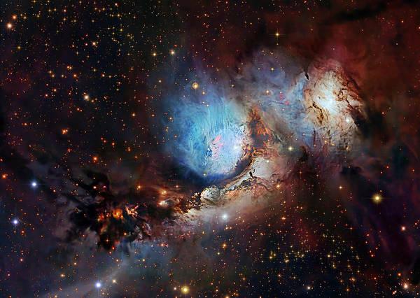 Wall Art - Photograph - M78 Reflection Nebula by Naoj/eso/robert Gendler/roberto Colombari/john Paglioli/science Photo Library