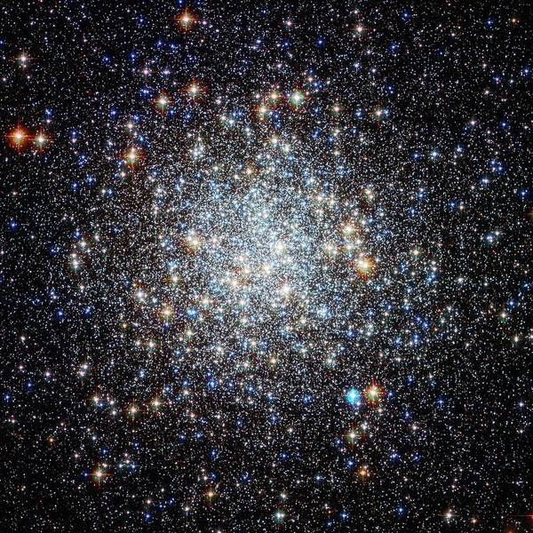 Ir Photograph - M9 Globular Cluster by Nasa/esa/stsci/science Photo Library