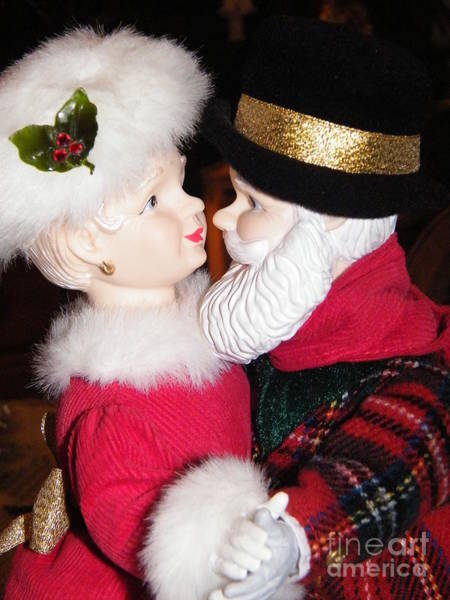 Photograph - Ma And Pa Claus by Ronda Douglas