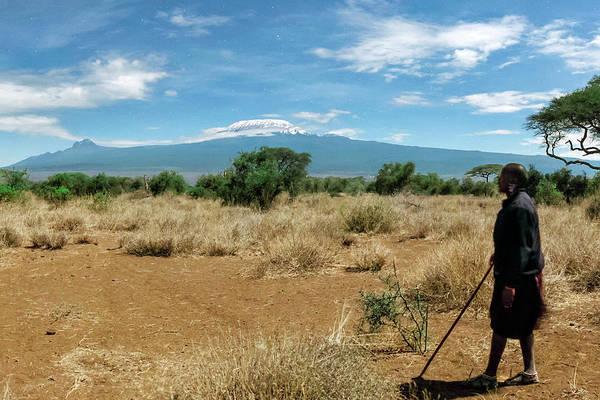 Mount Kenya Photograph - Maasai Man by Babak Tafreshi