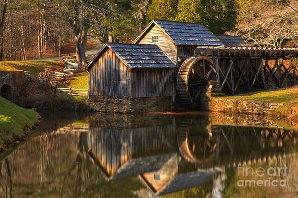 Photograph - Mabry Mill Changing Of The Seasons by Adam Jewell