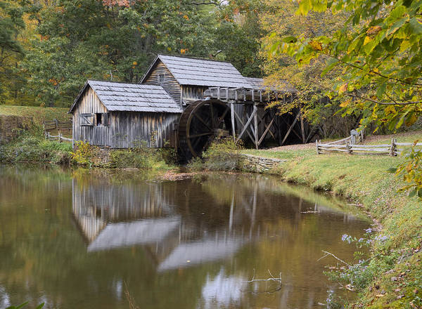 Photograph - Mabry Mill  by Harold Rau