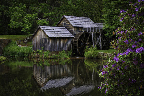 Mabry Mill In Spring Art Print