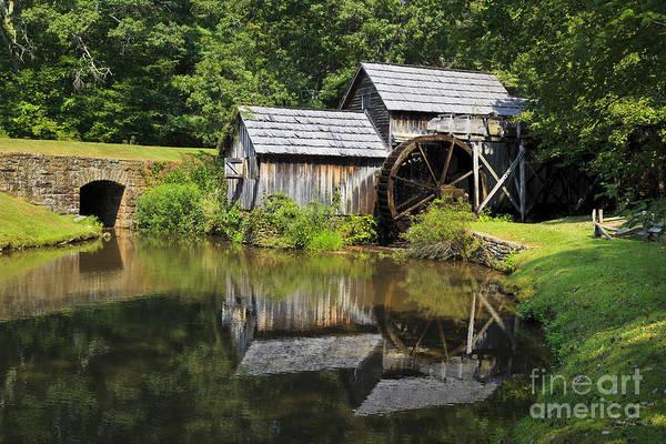 Photograph - Mabry Mill by Jill Lang