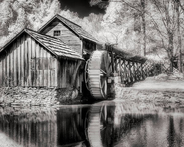 Photograph - Mabry Mill by William Beuther