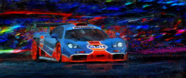 Le Mans 24 Painting - Mac And G's by Alan Greene