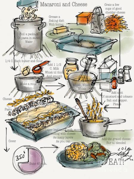 Painting - Macaroni And Art by Lisa Owen-Lynch