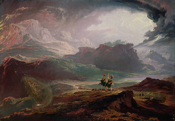 Wall Art - Photograph - Macbeth, C.1820 Oil On Canvas by John Martin