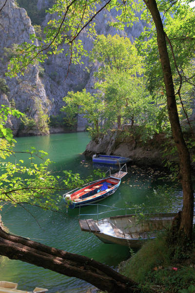 Southeastern Photograph - Macedonia, Matka Is A Canyon West by Emily Wilson