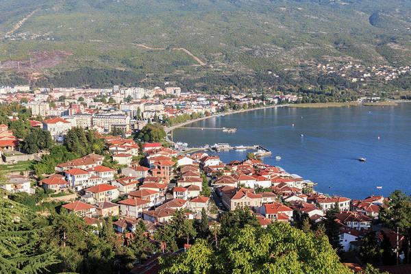 Southeastern Photograph - Macedonia, Ohrid And Lake Ohrid, Ohrid by Emily Wilson