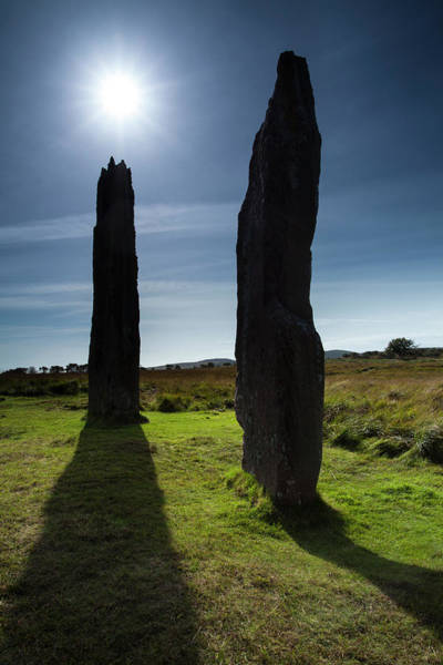 Era Photograph - Machrie Moor Stone Circle, Isle Of by Jason Friend Photography Ltd