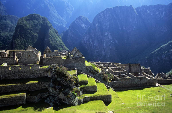 Photograph - Machu Picchu And Urubamba Canyon by James Brunker
