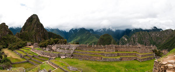 Photograph - Machu Picchu Main Square And The Group Of The Three Doorways by U Schade