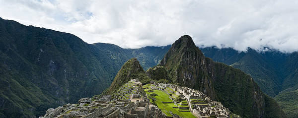 Photograph - Machu Picchu Panorama by U Schade