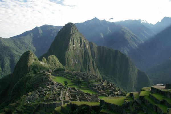 Wall Art - Photograph - Machu Picchu, Peru by Daniel Lai