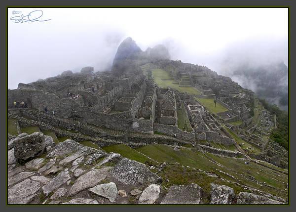 Photograph - Machu Picchu by S Paul Sahm