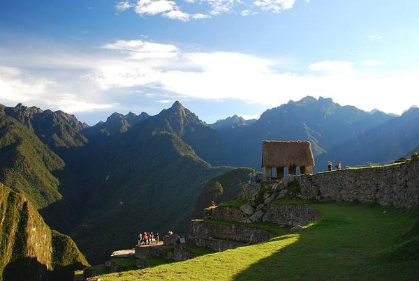 Photograph - Machu Picchu Sunrise by Cascade Colors
