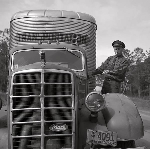 Wall Art - Photograph - Mack Truck  1943 by Daniel Hagerman