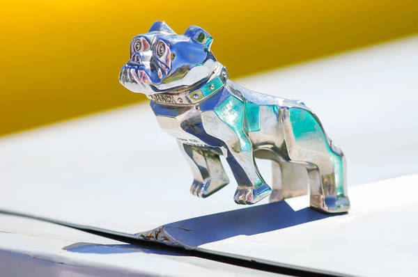 Mack Photograph - Mack Truck Bulldog Hood Ornament by Jill Reger