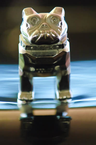 Mack Photograph - Mack Truck Hood Ornament 2 by Jill Reger