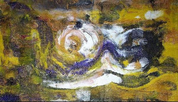 Conceptualism Painting - Mackenna's Gold by Dmitry Kazakov