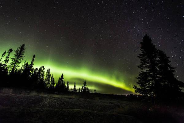 Boreal Forest Photograph - Mackenzie Point Aurora 3 by Jakub Sisak