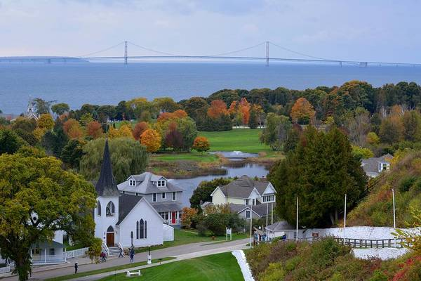 Photograph - Mackinac Autumn by Keith Stokes