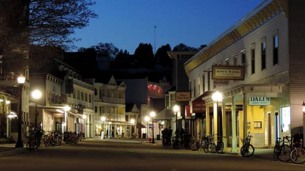 Photograph - Mackinac Island At 10pm by Keith Stokes