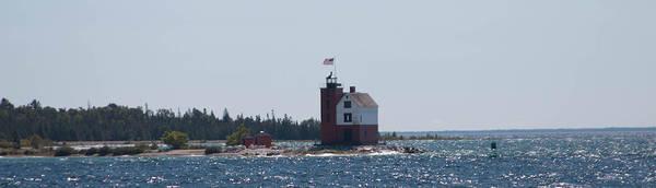 Wall Art - Photograph - Mackinac Island Lighthouse by Robert Torkomian