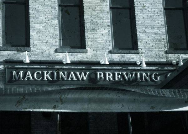 Brewing Photograph - Mackinaw Brewing by Dan Sproul