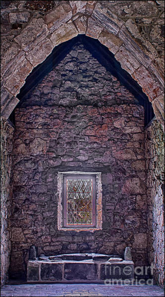 Macleod Tomb St Clements Rodel Art Print by George Hodlin