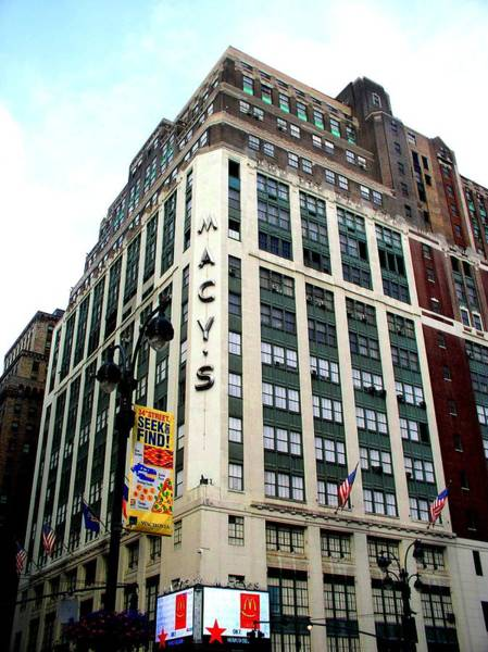 Photograph - Macy's New York City by Cleaster Cotton